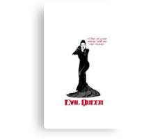 Evil Queen - Victory is Mine Canvas Print