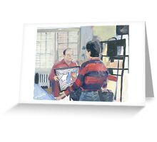 Seinfeld Painted Greeting Card