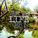 We travel where life takes us by DAMMIT-ANDERSON