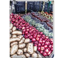 The greengrocers iPad Case/Skin