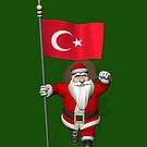 Santa Claus With Flag Of Turkey by Mythos57