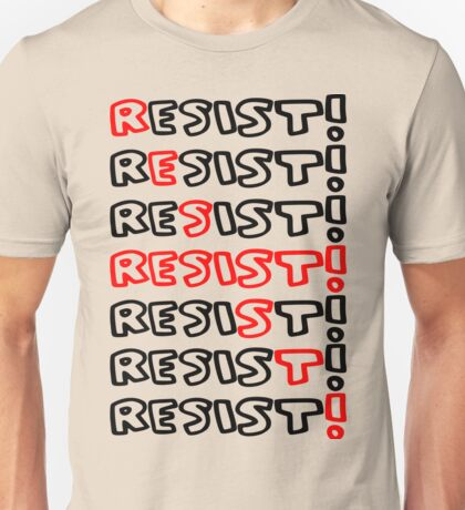 RED RESIST Unisex T-Shirt