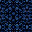 Blue Flowers by Julie Everhart by Julie Everhart