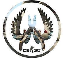CS:GO CT LOGO MapMash by TheNTRX