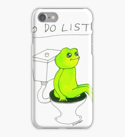 To Do List 1. iPhone Case/Skin