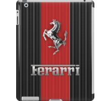 Ferrari Lover #3 [Silver - Red] iPad Case/Skin
