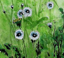 Dandelions by MARCOMAJO