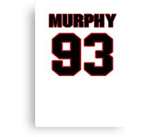 NFL Player Trent Murphy ninetythree 93 Canvas Print