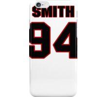NFL Player Justin Smith ninetyfour 94 iPhone Case/Skin