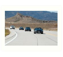 Convoy Colorado Art Print