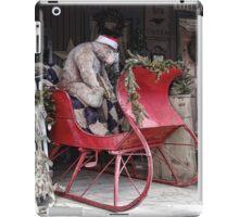 Bear Sleigh Ride iPad Case/Skin