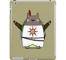 Totoro praise the sun iPad Case/Skin