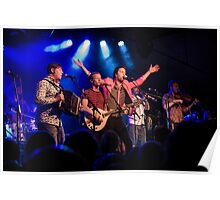 Bellowhead on stage Poster