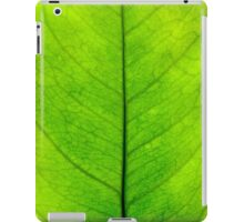 Lemon leaf iPad Case/Skin