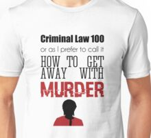 Criminal Law 100 Unisex T-Shirt