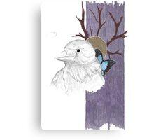 Nevermore tree Canvas Print