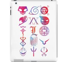 Anime Logos iPad Case/Skin