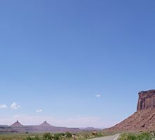 Approaching Canyonlands from Indian Creek by nealbarnett