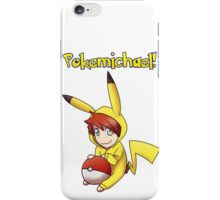 Pokemichael! iPhone Case/Skin