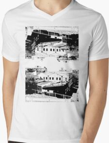City Reflection Mens V-Neck T-Shirt