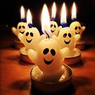 Ghost candles by Asrais