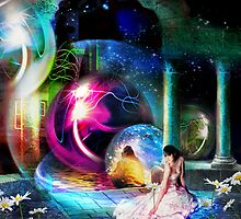 Way Station in the Multiverse by Nadya Johnson