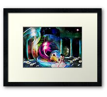 Way Station in the Multiverse Framed Print