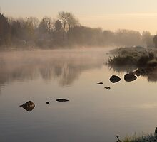 misty river by markspics