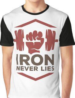 Iron Never Lies Graphic T-Shirt