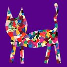 Lost Cat Design (Purple Background) by JCMPhotos