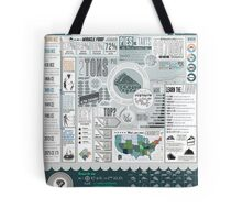 Pie: A Comprehensive Infographic Tote Bag