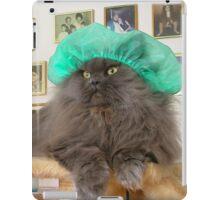 Romeo With Green Surgery Cap iPad Case/Skin