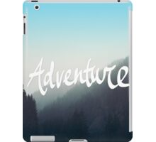 Adventure x Blue iPad Case/Skin