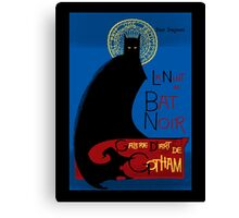 Gotham Fine Art Gallery: La Bat Noir Canvas Print