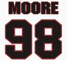 NFL Player Damontre Moore ninetyeight 98 by imsport