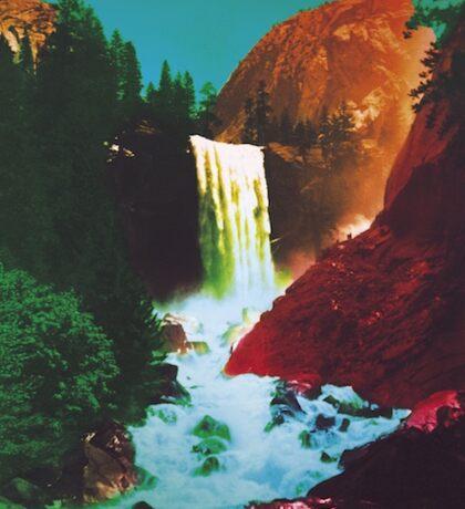 The Waterfall Album Cover MMJ Sticker