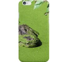 Alligator soup iPhone Case/Skin