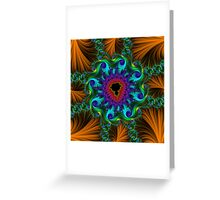 Fabulous Fractals     The Sultan's Pleasure Greeting Card
