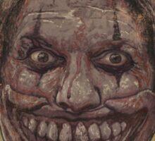 Twisty The Clown Sticker