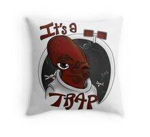 Straight Up TRAPT Throw Pillow