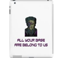 aybabtu all your base are belong to us t shirt iPad Case/Skin