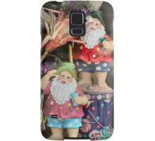 Vacation Santas...evidently he is twins.... Samsung Galaxy Case/Skin