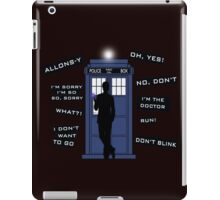 Ten's Quotes. iPad Case/Skin