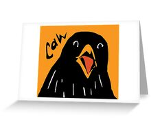 Caw! Greeting Card