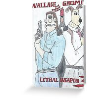 Wallace and Gromit: Lethal Weapon Greeting Card