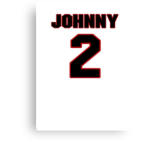 NFL Player Johnny Manziel two 2 Canvas Print