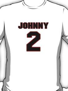 NFL Player Johnny Manziel two 2 T-Shirt