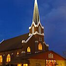 Small Town Church by lorilee