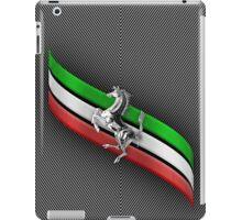Ferrari Lover #2 [Silver - Black] iPad Case/Skin