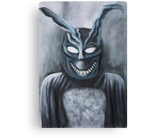 Why are you wearing that stupid man suit? Canvas Print